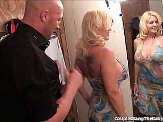 Horny Couple Has Threesome sex With Teen Babysitter!
