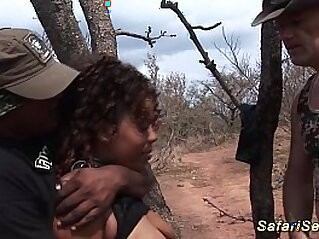 babe punished at the safari trip